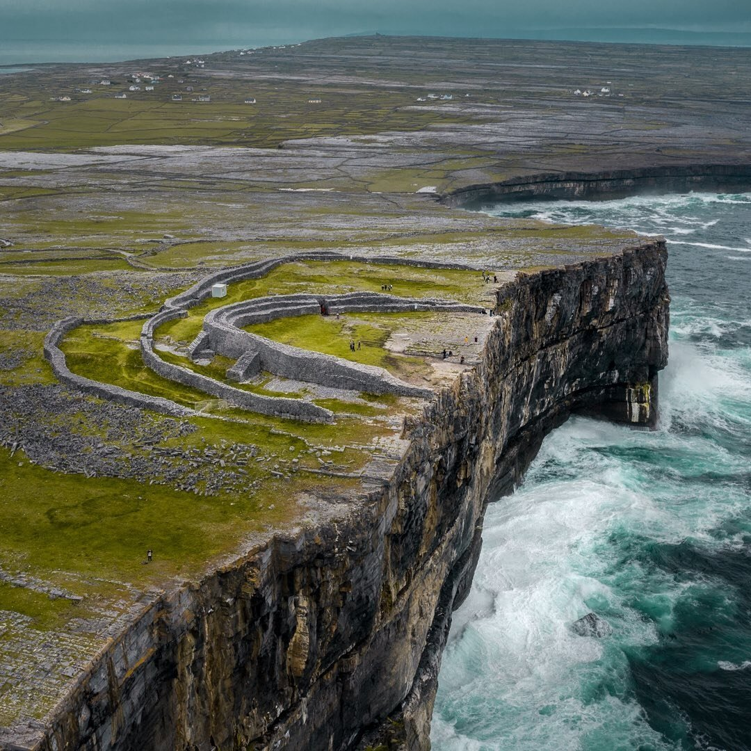 Dun Aengus on Inis Mor
