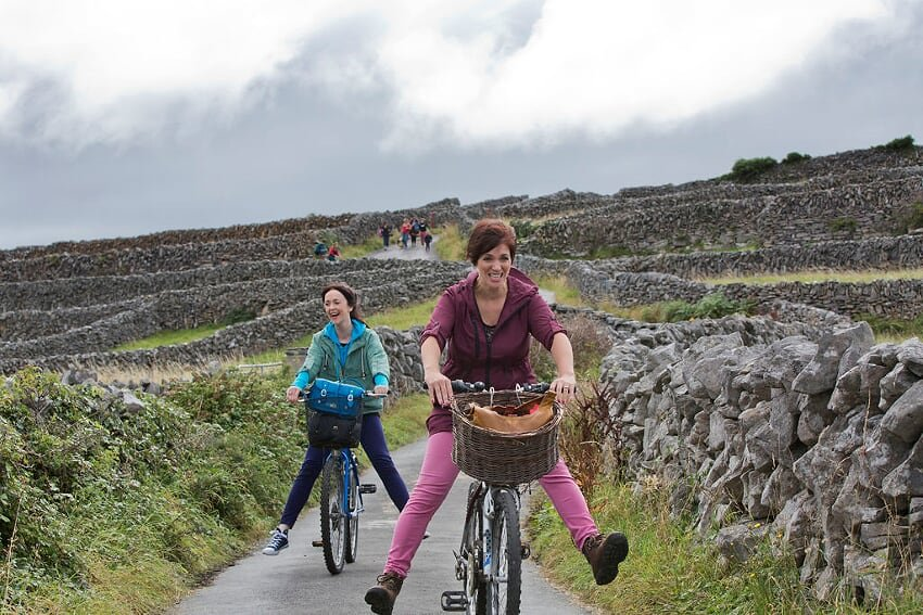 Cycling on the Aran Islands